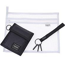 momo日本製PORTER TOKYO JAPAN黑色相位銀包wallet錢包purse皮夾black荷包key holder鎖匙釦bag收納袋s禮物gift