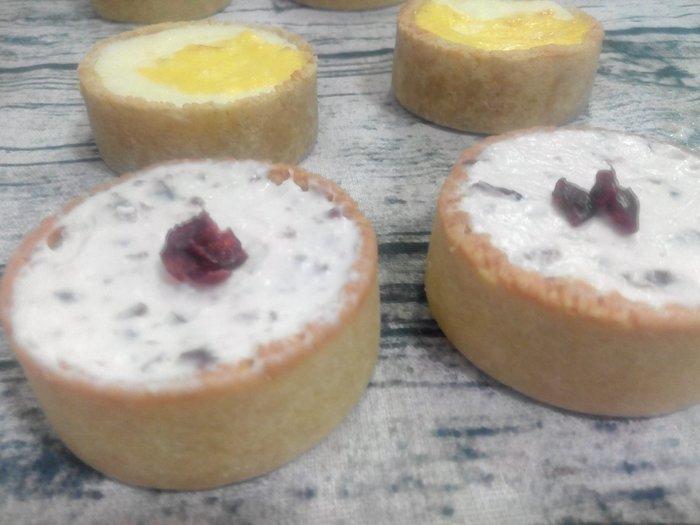 無糖/低醣/低碳/無麵粉/生酮 蔓越莓生乳酪塔
