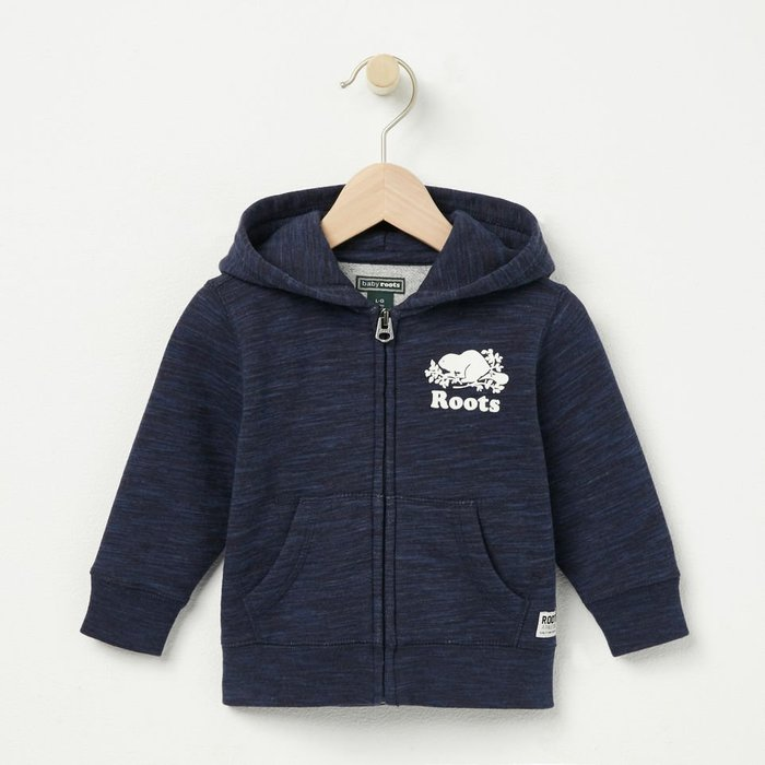 ~☆.•°莎莎~*~☆~~加拿大 ROOTS GIRLS COZY ORIGINAL FULL ZIP 帽T (女童)~