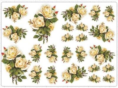 波蘭 Decoupage Paper(專用紙)A3編號PL-D-0336~蝶古巴特 餐巾紙拼貼 彩繪 黏土DIY手作材料