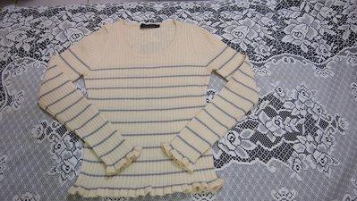 CLEAR IMPRESSION 長袖毛衣(100%羊毛)