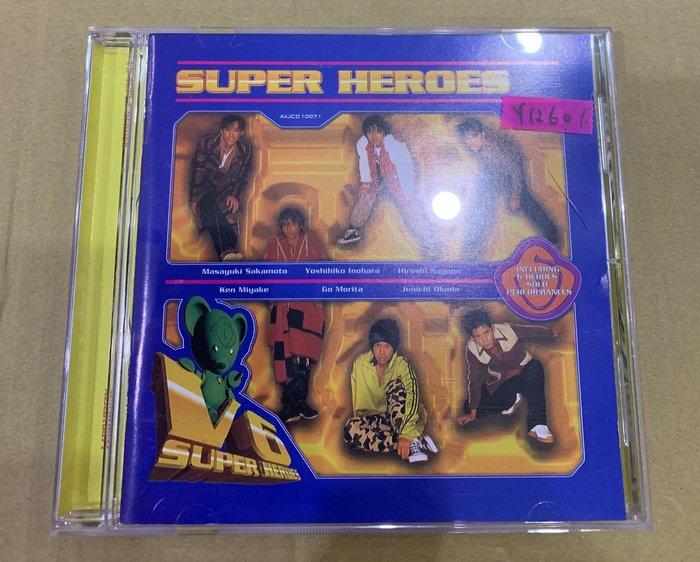 *還有唱片行*V6 / SUPER HEROES 二手 Y12601