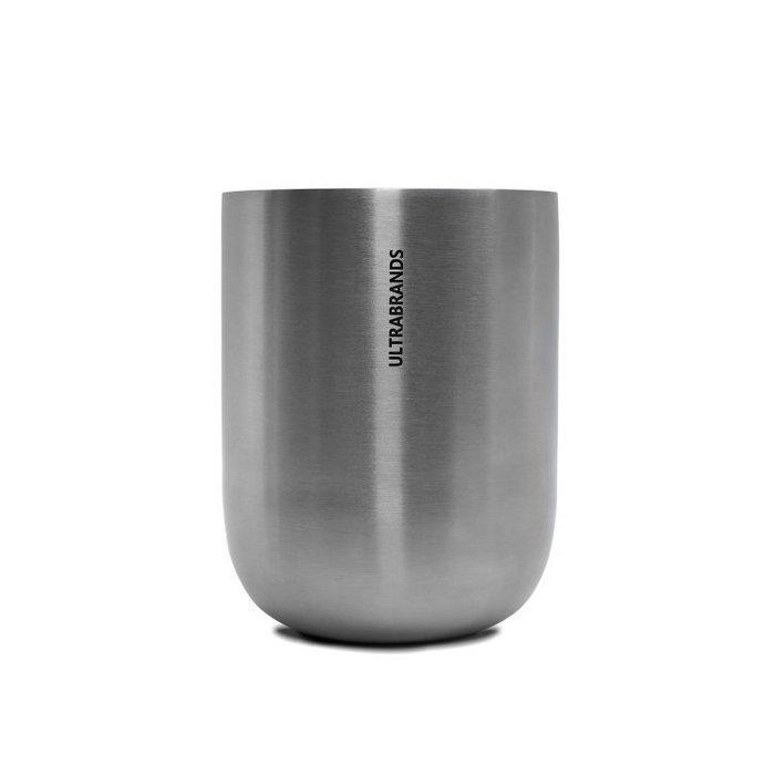 =86號店=北歐ULTRABRANDS 400ml 18/10不銹鋼 品牌設計 啤酒杯水杯 銀如圖色