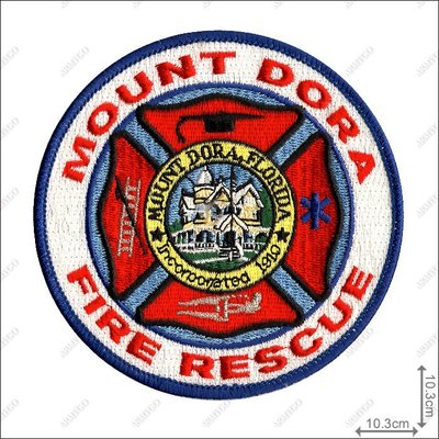 【ARMYGO】美國 Mount Dora Fire Department 消防隊章