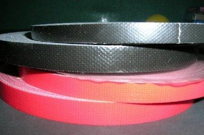 【線上體育】桌拍貼邊布  寬1.0CM*25M 紅色/黑色