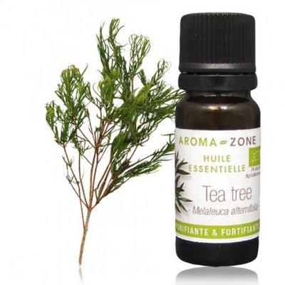 現貨特價/有機茶樹精油10ML原裝 / 法國Aroma-Zone