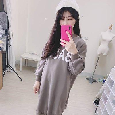 【ZEU'S】慵懶寬鬆上衣連身裙『 02120901 』【現+預】A