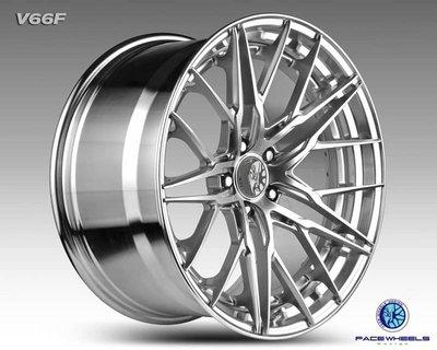 【台灣輪胎王】VOGUE V66F 旋壓雙片鋁圈 19吋 5X112/114.3 8.5J~9.5J