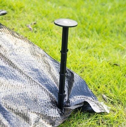 小花花精貨店-10個裝*園藝地釘 地布釘 用於大棚溫室 防蟲網 遮陽網 園藝地布的固定#地布釘