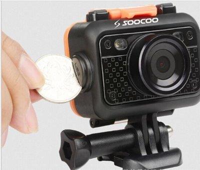 SOOCOO秀客S60帶遙控4K戶外運動相機防水山狗頭盔摩托航拍記錄儀 1232