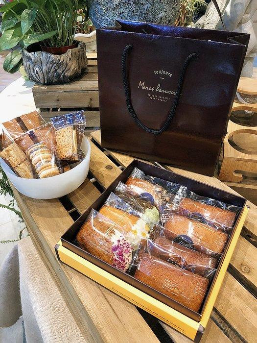 Amy烘焙網:一盒一袋/高檔愛馬仕風格包裝禮盒/磅蛋糕瑪德蓮綠豆糕雪茄手工餅乾包裝盒