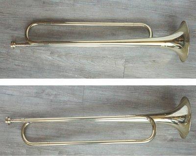 *雅典樂器世界* 台灣製造 高品質 金漆 軍號 附吹嘴