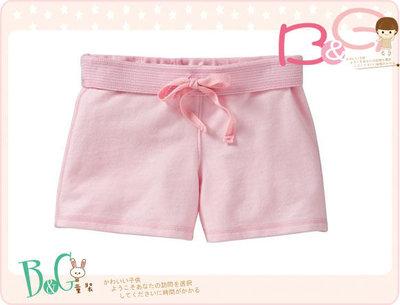 【B& G童裝】正品美國進口OLD NAVY粉色棉質短褲M號8-9yrs