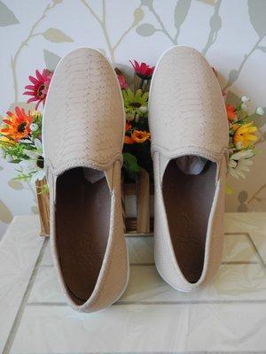 *pipi shop*全新美國品牌JOIE 舒適爆表質感百搭駝色真皮樂福休閒平底鞋, 特價
