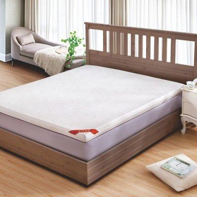 美兒小舖COSTCO好市多線上代購~CASA 雙人加大天然乳膠Q彈床墊183x190x7.5cm(1入)