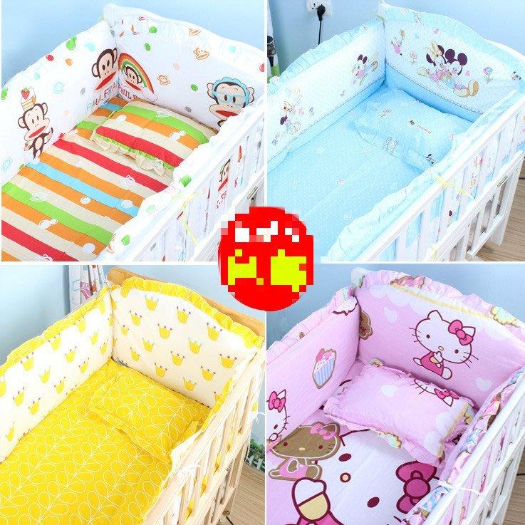 ~幸福家園~可訂製純棉嬰兒床套組~嬰兒床圍~兒童床圍~寶寶床品~純棉可拆洗~嬰兒床寢具多種款式價錢不同請看商品介紹