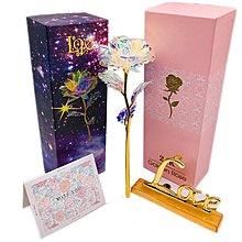 金箔 玫瑰 玫瑰花 情人節 教師節 禮盒 禮品~萬能百貨