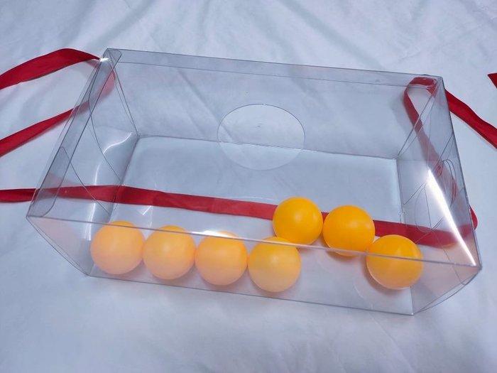 【♥豪美禮品♥】散買-盒子+紅線 兵乓球遊戲 電臀遊戲 闖關遊戲 漏球盒子 圓洞盒子 圓洞塑膠盒 紅繩