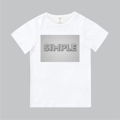 T365 MIT 親子裝 T恤 童裝 情侶裝 T-shirt 標語 話題 口號 美式風格 slogan SIMPLE