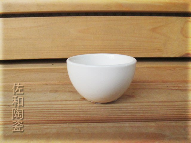 ~佐和陶瓷餐具~【82Q131 不倒小茶杯6入】/ 開店 餐廳 酒杯 水杯 茶杯 /