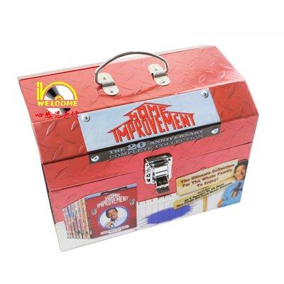 【優品音像】 美劇原版DVD Home Improvement Complete家居裝飾1-8季完整版25碟DVD 精美盒裝
