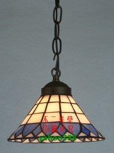 【美學】歐式蒂帝凡尼地中海門廳彩色玻璃小吊燈(小號)MX_112