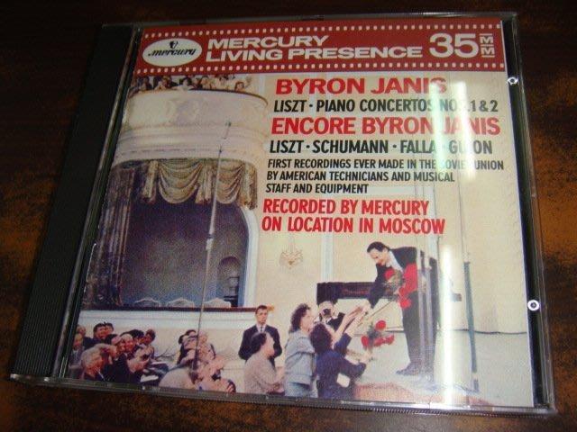 好音悅 全銀圈 Janis 堅尼斯 Liszt 李斯特 1.2.鋼琴協奏曲 安可小品 Mercury 美PDO無IFPI