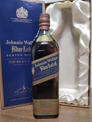 Johnnie Walker Blue Label Scotch Whisky 尊尼獲加藍牌750ml