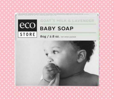 Ecostore嬰兒寶寶潔膚皂 80g 現貨