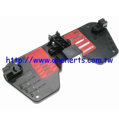 萬赫 3M Fibrlok TM 2501光纖接續壓接盤 光纖續接盤 數位監控 衛星天線 網路線 熔接免 AAA