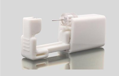 ☜男神閣☞打耳洞神器無痛穿耳器穿鼻孔鼻釘鼻洞防過敏鈦鋼耳釘