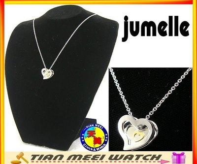 【天美鐘錶】【下殺↘超低價】原廠公司貨-Jumelle「甜蜜約定」日本316鋼&18K金項鍊