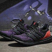 球鞋瘋 adidas ultraboost 1.0 黑紫 慢跑 編織 男鞋 黑人月 限定 紫黑 紅 EE3712