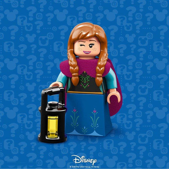 現貨【LEGO 樂高】積木 / 人偶包系列 迪士尼2 DISNEY 71024 | #10 冰雪奇緣 安娜 Anna