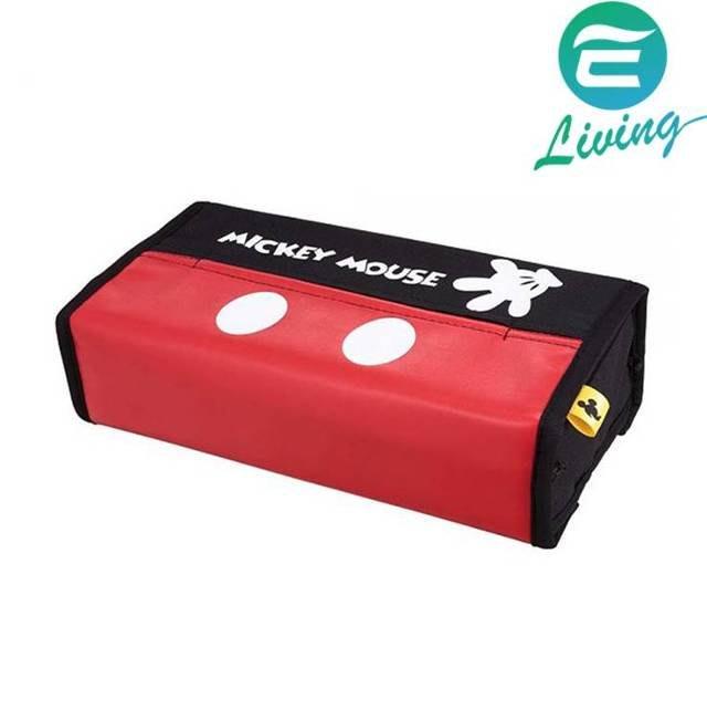 【易油網】NAPOLEX 米奇面紙盒套固定架 WD-292 經典紅黑