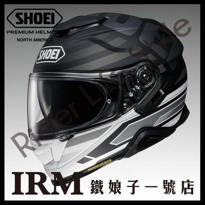 【鐵娘子一號店】公司貨 日本SHOEI GT-AIR2 INSIGNIA TC-5 霧白黑 II 全罩 加長內墨片 通風