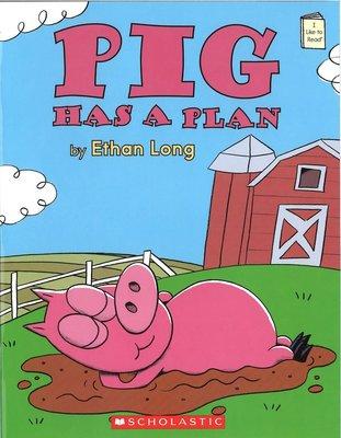 *小貝比的家*PIG HAS A PLAN/平裝/3~6歲/ 幽默 Humor/低年級/個人組表演攻略