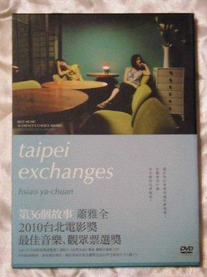 第36個故事 Taipei Exchanges 桂綸鎂 林辰唏 張翰 蕭雅全導演(命帶追逐 范寶德)