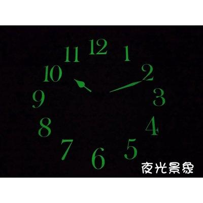 A-ONE超級夜光數字+指針時鐘 台灣製立體邊框 掛鐘 居家擺設 時尚空間百搭【超殺↘】TG-0302
