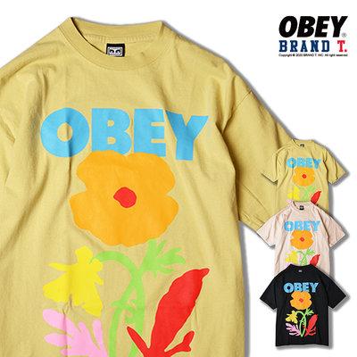 【Brand T】OBEY NO FUTURE FOR APATHY 大花 LOGO 字體  造型 短T 短袖 3色