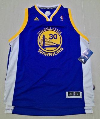 【售】全新 NBA球衣 青年版 電繡 Golden State Warriors Stephe Curry 客場 YXL