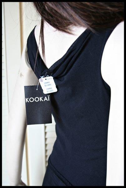 全新專櫃品牌【KOOKAI】性感黑長洋裝