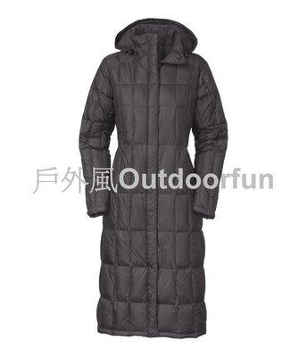 【戶外風】THE  NORTH FACE 女 700FILL 羽絨長大衣  售價:12800