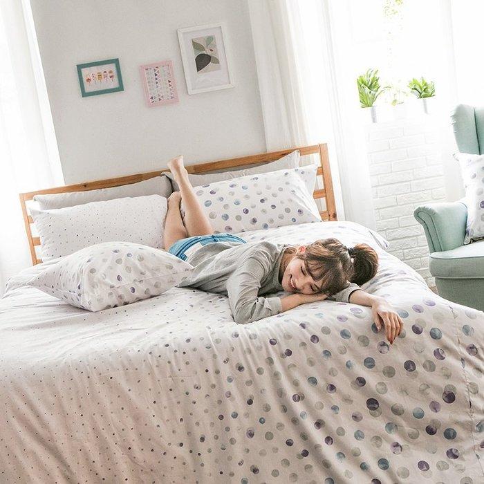 床包 / 雙人【律動永恆】含兩件枕套  60支精梳棉  戀家小舖台灣製AAS201