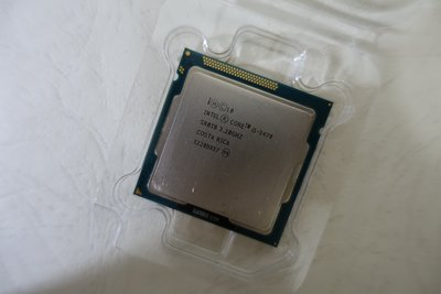 Intel Core i5 3470 3.2G 6M 4C4T LGA 1155 HD 2500 零售正式版 CPU