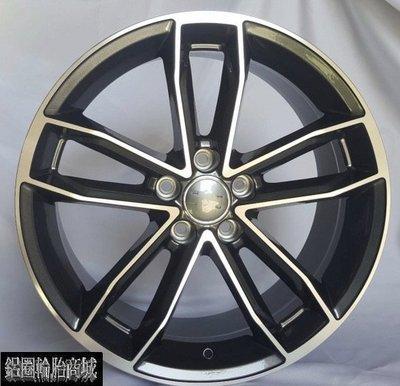 【CS-469】全新鋁圈 CK 類原廠 AUDI S5 RS6 18吋 5孔112 8J 亮灰車面 A4 Tiguan
