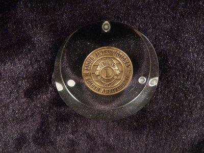 乖乖@賣場LIONS INTERNATIONAL 1967 GOLDEN ANNIVERSARY獅子會國際紀念幣