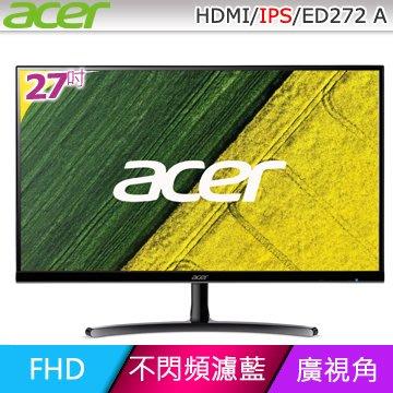 新莊 自取價4150元 ACER 宏碁 ED272 A 27型 IPS廣視角螢幕 HDMI