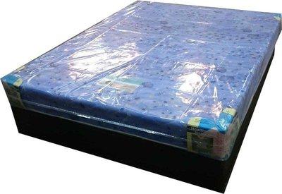 【風禾家具】ADM-6T-E 國民基本款6尺雙人加大彈簧床【台中3700送到家】 床墊 涼蓆 台灣製傢俱 2.3mm彈簧