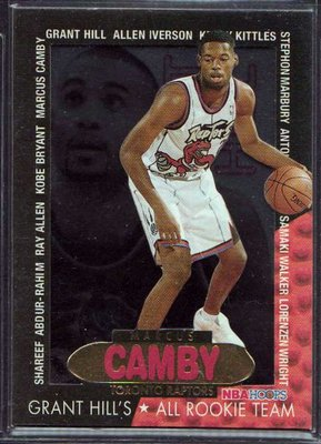 96-97 HOOPS GRANT'S ALL ROOKIES #4 MARCUS CAMBY